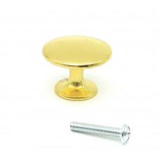 Ручки мебельные SOLLER 306А золото d-30мм