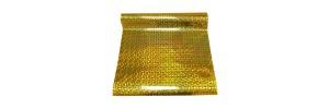 Пленка самоклеящаяся голограмма 0,45*8м М007В желтая
