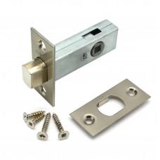 Защелка дверная HD-002 SN-BK SOLLER сатин для ванных комнат