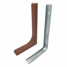 Полкодержатель С33 (237*143*35) коричневый