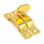 Завертка форточная 909 золото