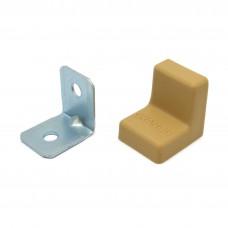 Уголок мебельный металл+ пластик 20*20 Груша