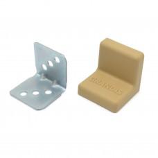 Уголок мебельный металл+ пластик 25*25 Груша