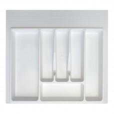 Вкладка д/столовых приборов 600 мм (белая)