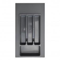 Вкладка д/столовых приборов 300 мм (серая)