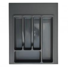 Вкладка д/столовых приборов 400 мм (серая)