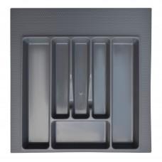 Вкладка д/столовых приборов 500 мм (серая)