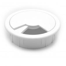Розетка для компьютерного стола (белая)