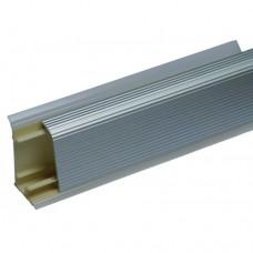 Плинтус кухонный алюминиевый рифленый (РИО-С), 3м