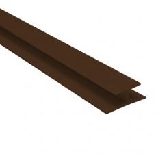 Профиль соединительный 2м (коричневый) 679