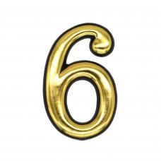 Цифры пластмассовые №6