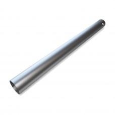 Труба для опоры мебельная 710*60 0,8 мм, мат. хром /4/