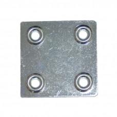 Пластина крепеж ПК 48*48*1,2 цинк