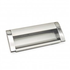 Ручки мебельные S906-96  хром/матовый хром врезная