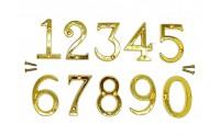 Цифры металлические