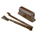 Доводчик дверной №201 (25-35кг) коричневый