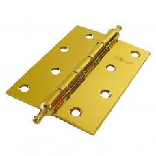 """Петля 4"""" SOLLER фигурная золото (сталь 100*70*2,5)"""
