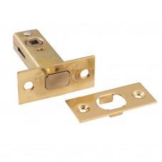 Защелка дверная HD-002-BK-РВ SOLLER золото для ванных комнат