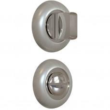 Завертка дверная для ванных комнат BK-02 CP/SS SOLLER хром/сатин /100/