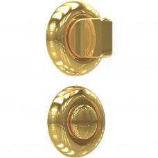 Завертка дверная для ванных комнат BK-02 PB SOLLER золото /100/