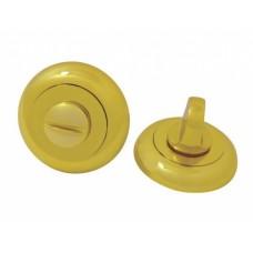 Завертка дверная для ванных комнат BK GP SOLLER золото