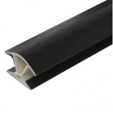 Угловое соединение 90* Черный Н-100 универсальное, арт