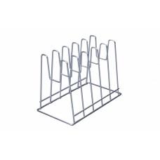 Подставка под крышки настольная хром вертикальная (8.6)