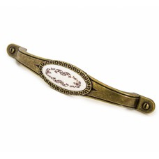 Ручка мебельная ZY-10483-128 античная бронза