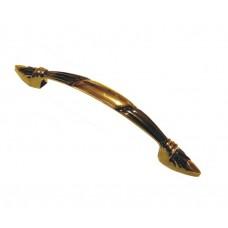 Ручки мебельные 3164-96 графит/золото