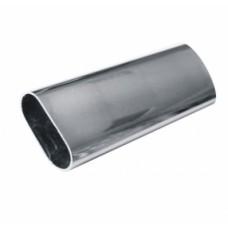 Труба 3м овальная хром 15*30 (сталь 0,7 мм)