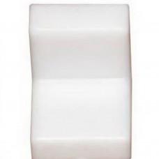 Уголок мебельный пластиковый 25*25 Белый