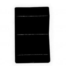 Уголок мебельный пластиковый 25*25 Черный