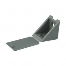 Уголок пластмассовый №10 Серый