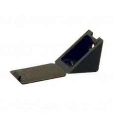 Уголок пластмассовый №12 Черный