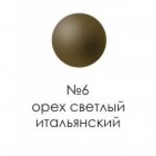 Заглушка д/конфирмата №6 орех итал.  /1000/