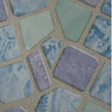 Пленка самоклеящаяся 0,45*8м 8062 мозаика голубая
