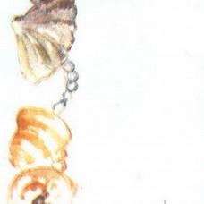 Пленка самоклеящаяся 0,45*8м 8067 ракушки