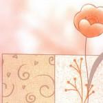 Пленка самоклеящаяся 0,45*8м 8195 цветы