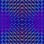 Пленка самоклеящаяся голограмма 0,45*8м М039D синяя