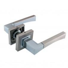 Комплекты дверных ручек ZF11-R280 SN/CP SOLLER сатин/хром  /24/