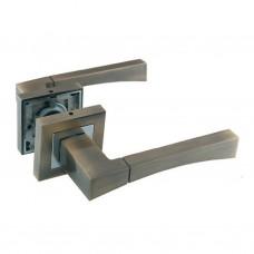 Комплекты дверных ручек ZF11-R280 АВ/CP SOLLER бронза/хром  /24/