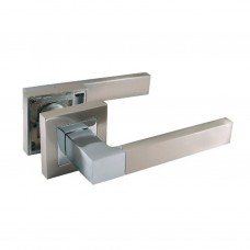 Комплекты дверных ручек ZF11-RА12 SN/CP SOLLER сатин/хром  /24/