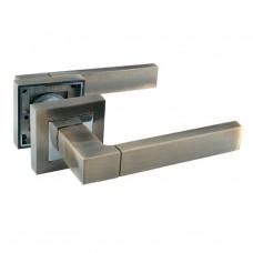Комплекты дверных ручек ZF11-RА12 АВ/CP SOLLER бронза/хром  /24/