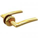 Комплект дверных ручек ZY-502 PB SOLLER золото  /24/
