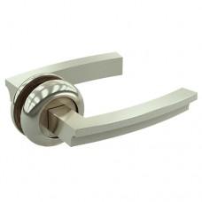 Комплект дверных ручек ZY-505 SS SOLLER мат. никель  /24/