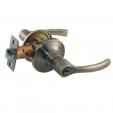 Ручка-защелка межкомнатная SOLLER без ключа с фиксатором R 3905 ВКАB бронза