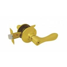 Ручка-защелка межкомнатная SOLLER без ключа с фиксатором R 891 ВКРВ золото