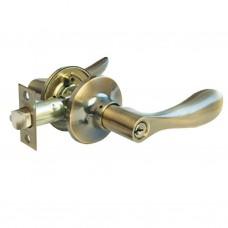 Ручка-защелка межкомнатная SOLLER с ключем и фиксатором R 891 ETАB бронза