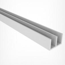Профиль направляющий Ш-образный 2м (белый) 292