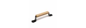 Ручка-скоба РС 140 Пл с деревянными накладками
